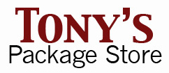 Tony's Package Store logo